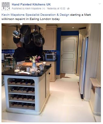 Hand Painted Kitchens UK Facebook