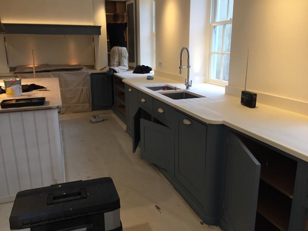 Hand Painted Bespoke Kitchens Berkshire