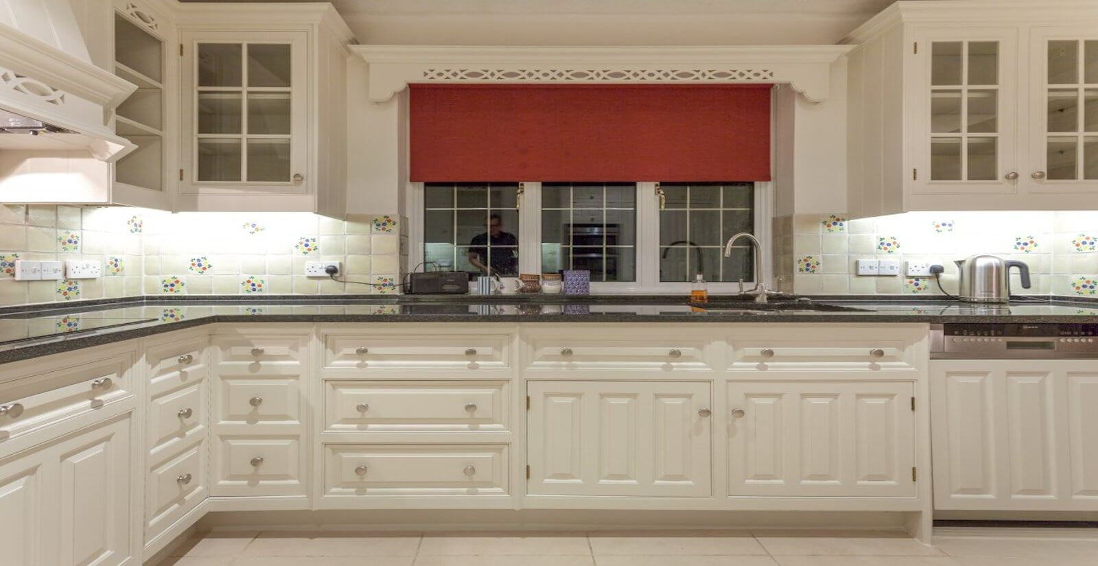 Hand Painted Smallbone Kitchen.
