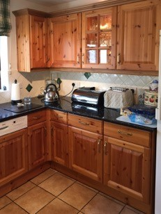 Hand painted kitchen High Wycombe